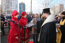 У Дніпрі єпископ УПЦ КП освятив перший міський бювет