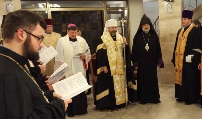 У Києві відбулися екуменічні молебні за участю католиків, православних, протестантів, вірмен