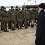 Делегації УПЦ не вдалося привітати військових з Різдвом по ту сторону лінії фронту