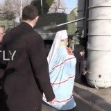 Митрополит УПЦ освятив в Криму російський зенітно-ракетний комплекс