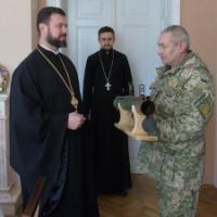Єпископ УПЦ КП обговорив з військовими АТО подальшу співпрацю
