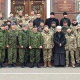 Канадські інстуктори проводять навчальний курс для військових капеланів України