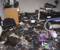 На Одещині злочинці підпалили дитячу амбулаторію і храм УПЦ