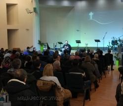 Глава УГКЦ помолився за єдність християн у протестантському домі молитви