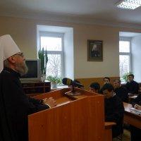 УПЦ проводить курси з військового капеланства для студентів семінарії