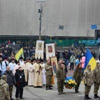 Священики УАПЦ очолили ходу пам'яті героїв Небесної сотні у Києві