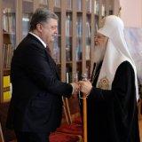 Президент України високо оцінив громадянську позицію УПЦ КП, а Патріарх Філарет розповів йому про діалог з Константинополем