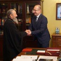 Глава УПЦ обговорив з послом Македонії державні, духовні та культурні взаємини між Македонією та Україною