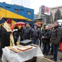 У Дніпрі митрополит УПЦ благословив початок робіт з будівництва метрополітену