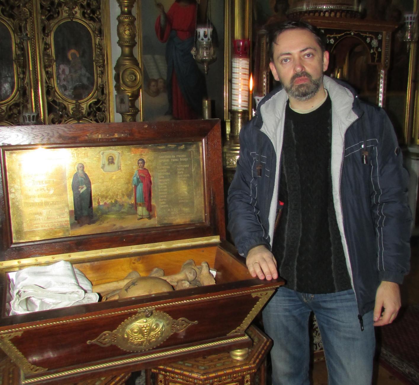 Українські вчені відшукали втрачені мощі афонського старця Аникити