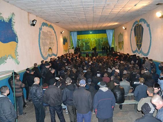 620 заключенных из Днепропетровщины приняли участие в служении церкви «Новое поколение»