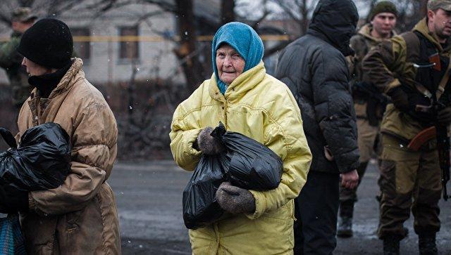 УПЦ направила беженцам из Авдеевки 12 тонн гуманитарной помощи