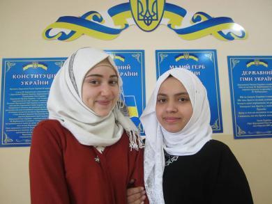 Школьницы-мусульманки стали серебряными призерами Малой академии наук Украины