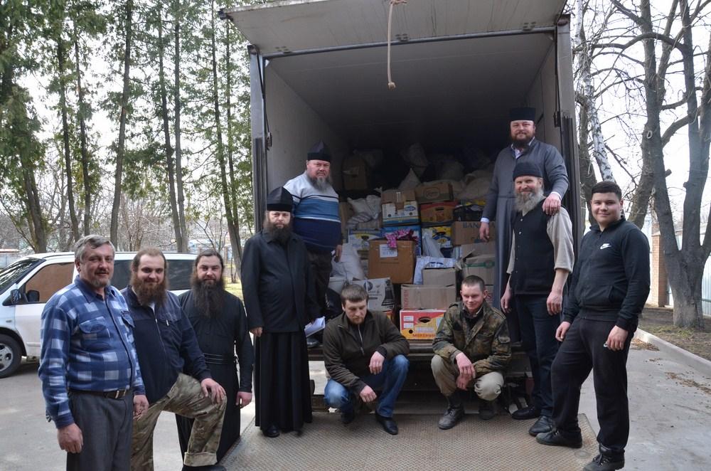 Єпархії УПЦ відправили в Авдіївку 11 тон гуманітарної допомоги