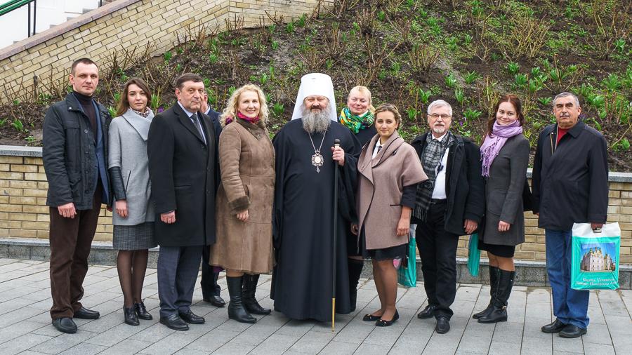 Намісник Києво-Печерської лаври обговорив з представниками ЮНЕСКО збереження древніх святинь