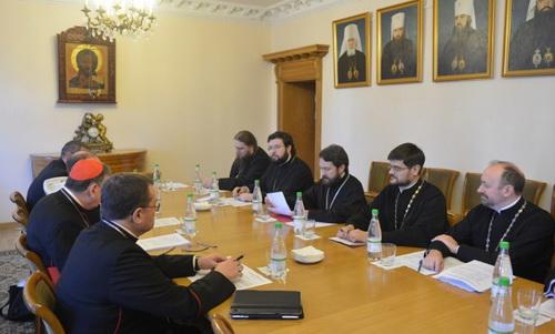 В Москве прошло очередное заседание рабочей группы по культурному сотрудничеству между РПЦ и Римско-Католической Церквями