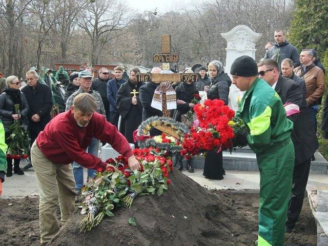 У Володимирському соборі Києва звершено похорон Дениса Вороненкова