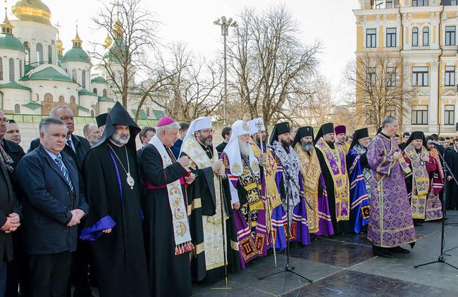 Церкви молилися разом за мир в Україні та перемогу над російським агресором