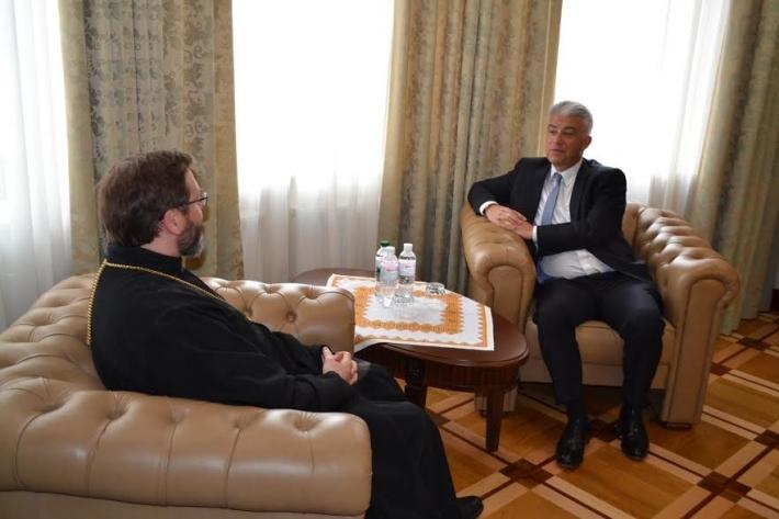 Посол Німеччини високо оцінив соціальне служіння УГКЦ