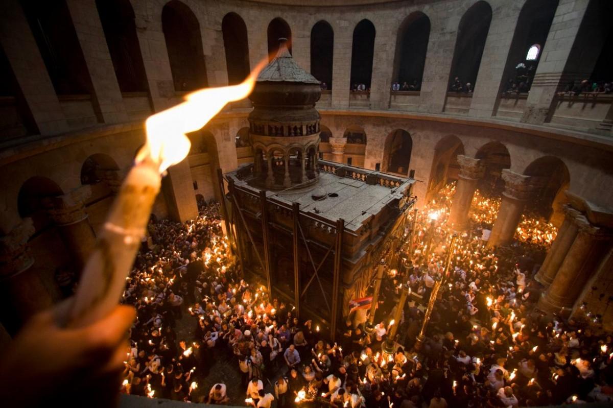 УПЦ проведе в Єрусалимі хресну ходу з копіями 100 чудотворних ікон