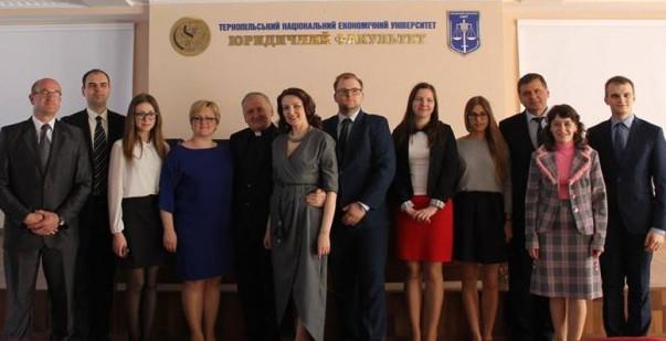 На міжнародній юридичній конференції в Тернополі обговорювали співпрацю держави і церкви
