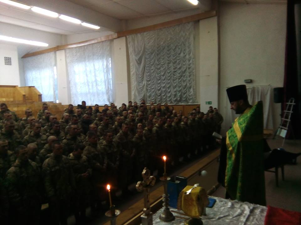 На Рівненщині понад 200 військовослужбовців приступили до таїнств сповіді та причастя УПЦ КП