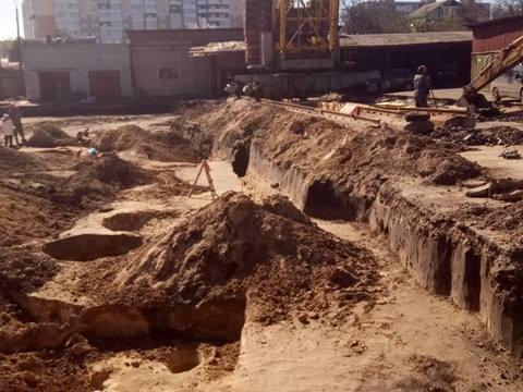 У Чернігові викопали давньоруські споруди, фундамент дзвіниці ХІХ ст., а згодом планують встановити пам'ятник святим Михайлу і Федору