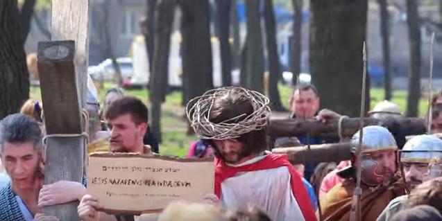 Протестанты Одессы покажут реконструкцию пасхальных событий, которая раньше возмутила епархию УПЦ