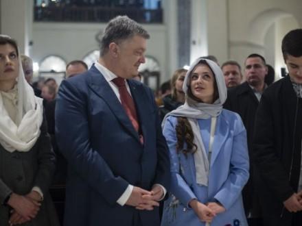 На Великдень Президент України відвідав храми чотирьох конфесій
