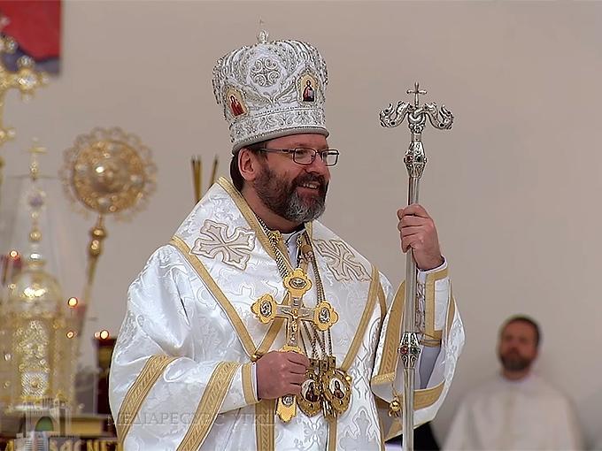 """Глава УГКЦ закликав """"зберегти обидві легені – і католицьку, і православну, в єдиній помісній Церкві"""""""