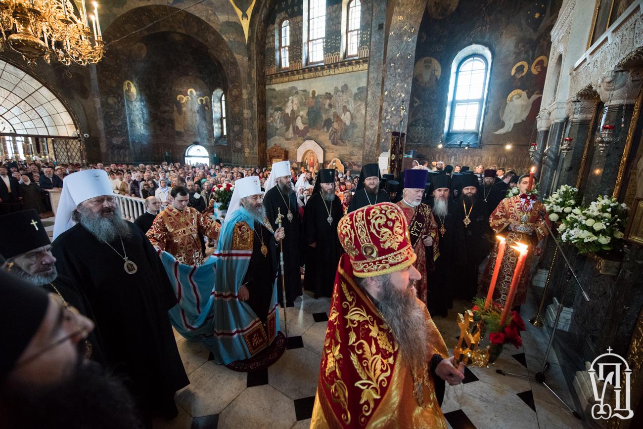 Глава УПЦ закликає не допускати змін у Церкві