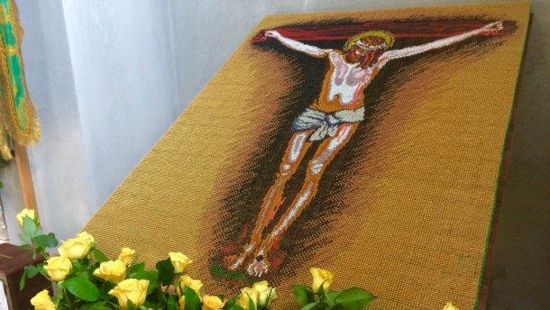 Ікону з 106 тисяч сірників створили на Волині