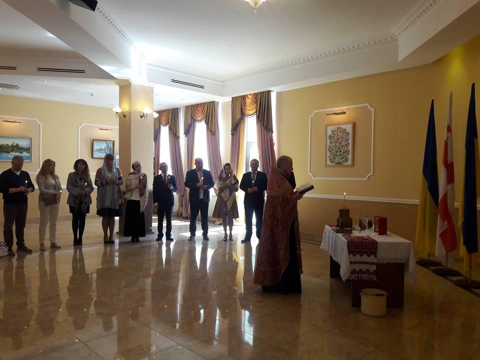 УПЦ КП освятила Посольство України в Грузії