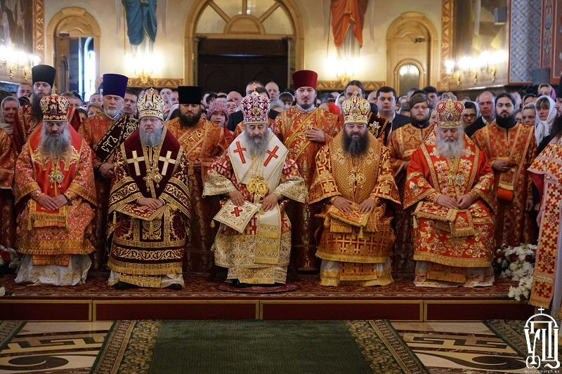 """Глава УПЦ прибыл в монастырь, в котором планируется """"антиэкуменический собор"""""""