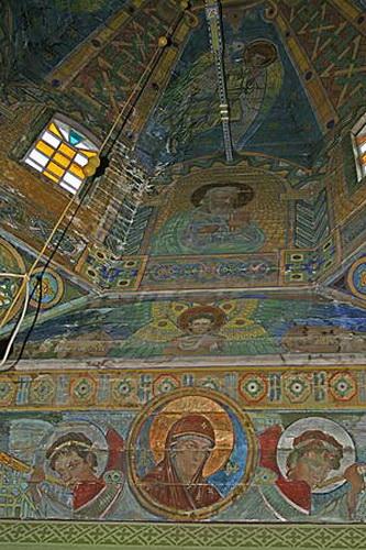 Львівська облрада дає 50 тис. грн на реконструкцію церкви з фресками Модеста Сосенка