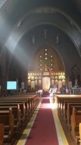 Коптская литургия в Лёвене