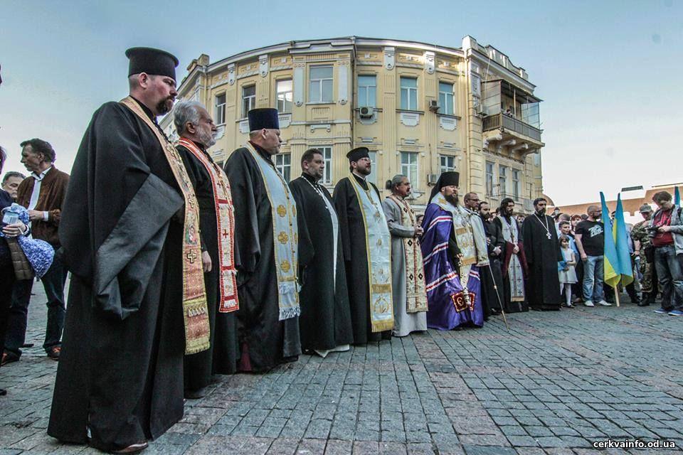 Одесские конфессии помянули жертв трагедии 2 мая 2014 года