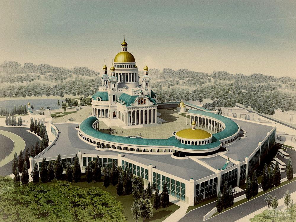 Как дела со строительством Воскресенского собора в Киеве?