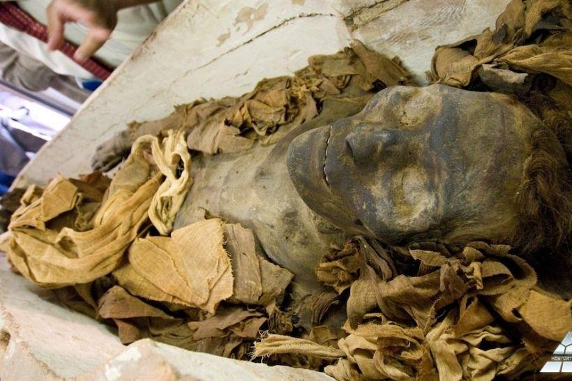 У Києво-Печерській лаврі віднайшли древню єгипетську мумію