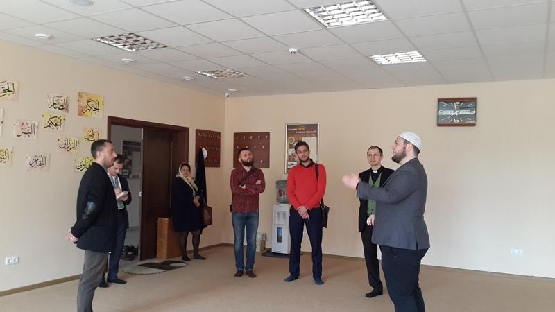 Студенты Украинского католического университета стали гостями Львовского исламского центра