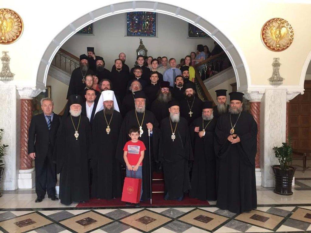 Управделами УПЦ принял участие в освящении русского храма на Кипре