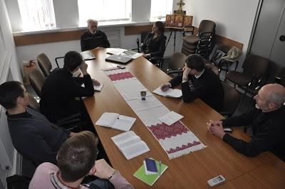 Семінаристи УГКЦ провели зустріч з відомим правозахисником Семеном Глузманом