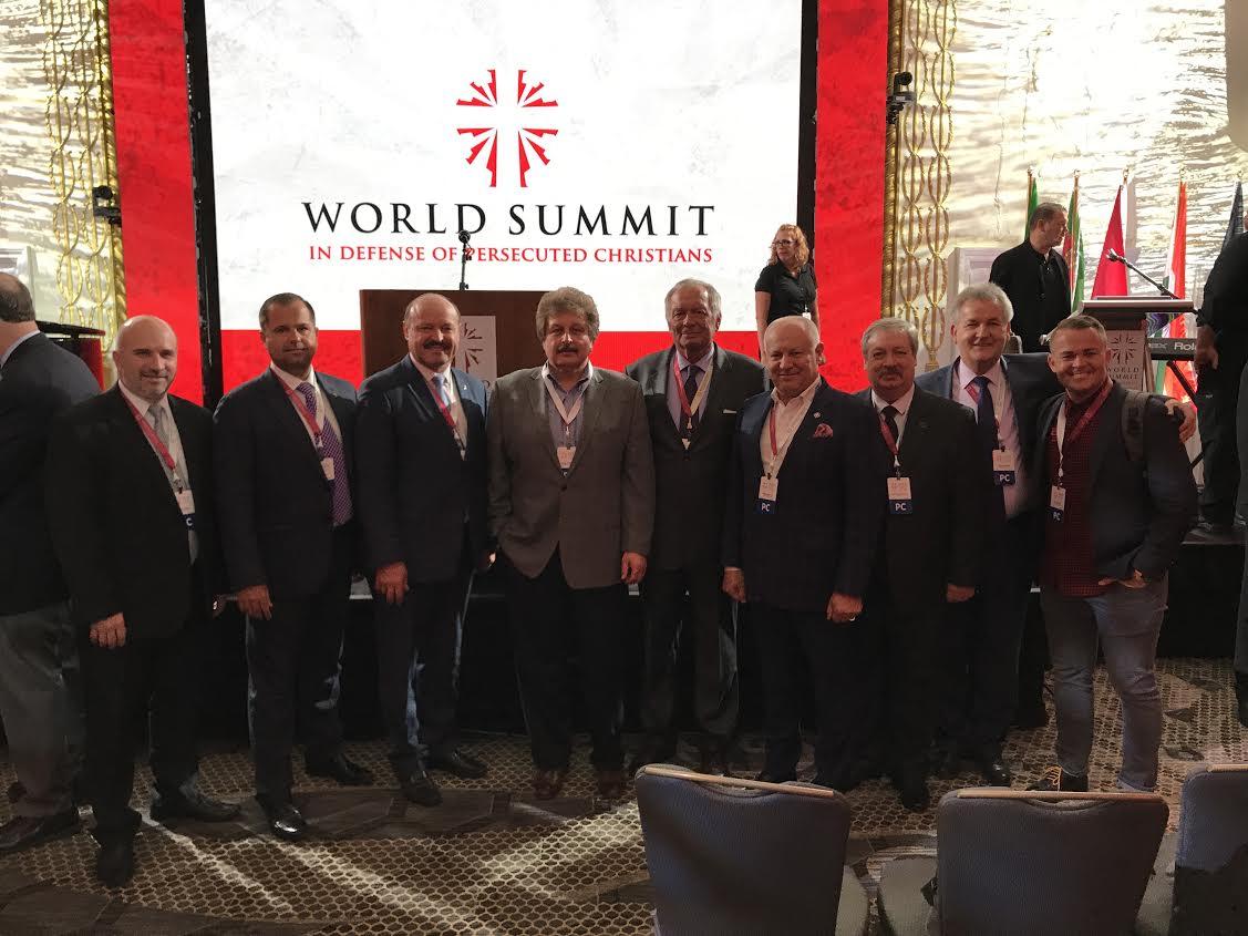 Українці взяли участь у Всесвітньому саміті на підтримку гнаних християн