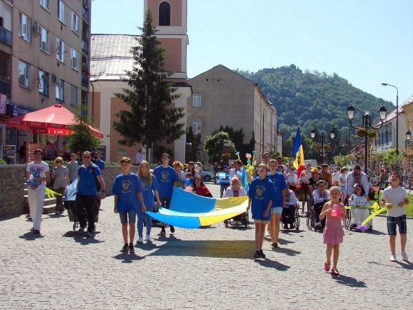 Христиане участвуют в закарпатском Фестивале для инвалидов «Долина нарциссов»