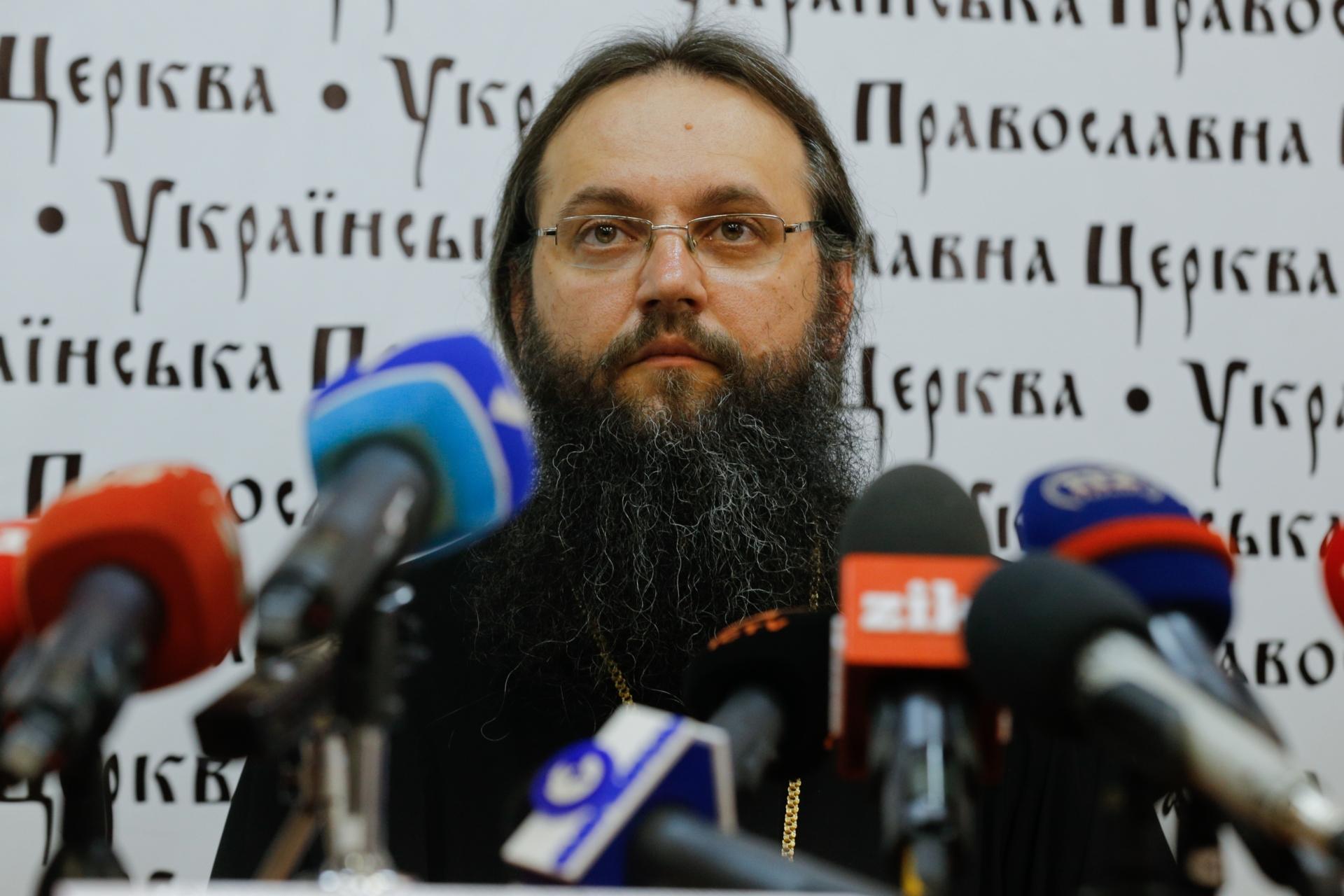 """Епископ-спикер УПЦ обещает """"гнев Божий на государство"""", если депутаты примут законы, мешающие УПЦ"""