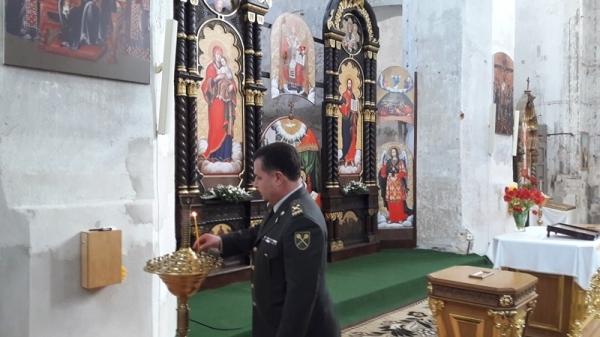 Міністр оборони України відвідав у Вільнюсі греко-католицьку церкву, засновану князем Костянтином Острозьким