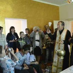На базі парафії УГКЦ відкрили Центр для роботи з неповносправною молоддю