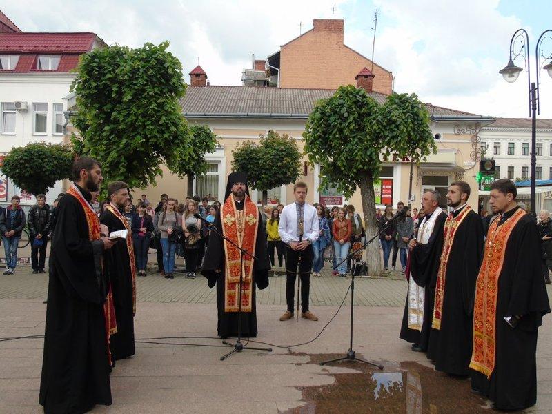 Духовенство УПЦ КП і УГКЦ відслужило спільну панахиду за поетом Іваном Франком