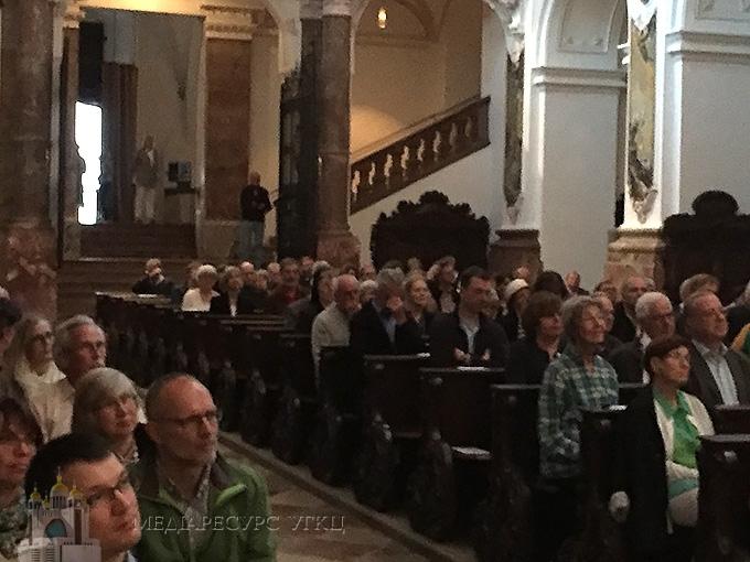 Члени Синоду УГКЦ відвідали органний концерт у Німеччині