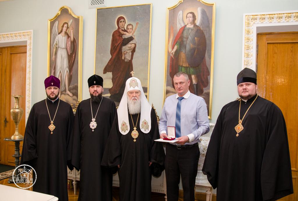 Голова Національної поліції України нагороджений орденом УПЦ КП